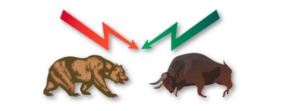 نمودارهای شمعی(Candlesticks) bulls_and_bears