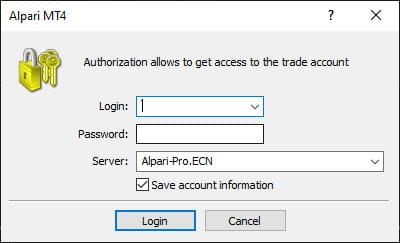 اتصال حساب به متاتریدر
