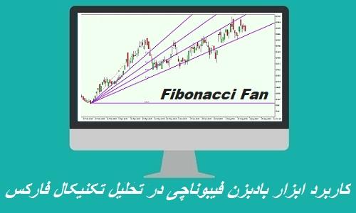 ابزار بادبزن فیبوناچی (Fibonacci Fan)