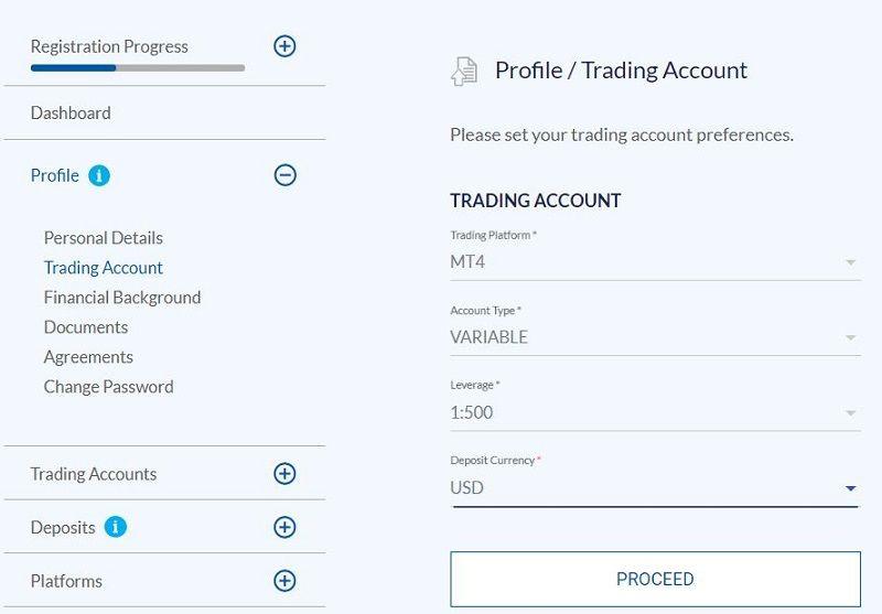 افتتاح حساب تجاری در بروکر fxprimus